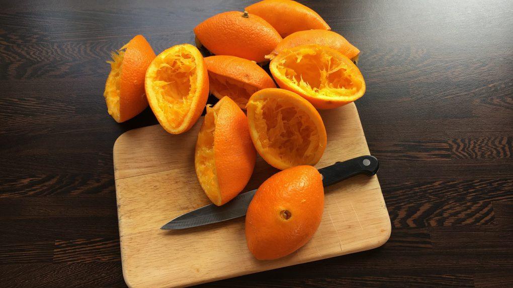 Фруктовый коктейль с апельсином