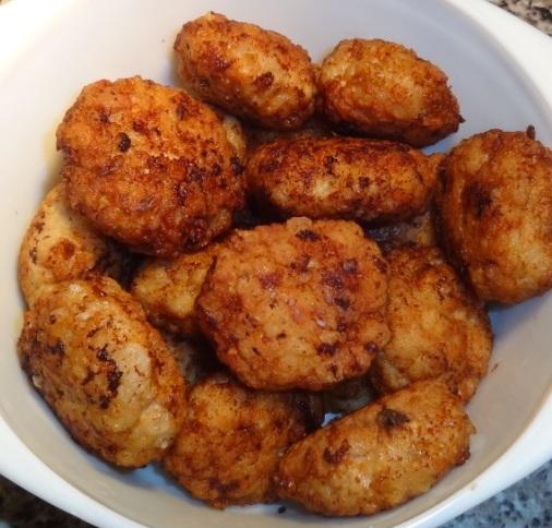 куриные котлеты с рисом