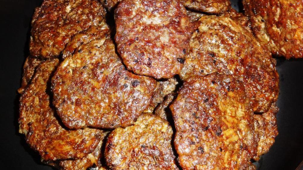 Оладьи печеночные из говяжьей печени классический