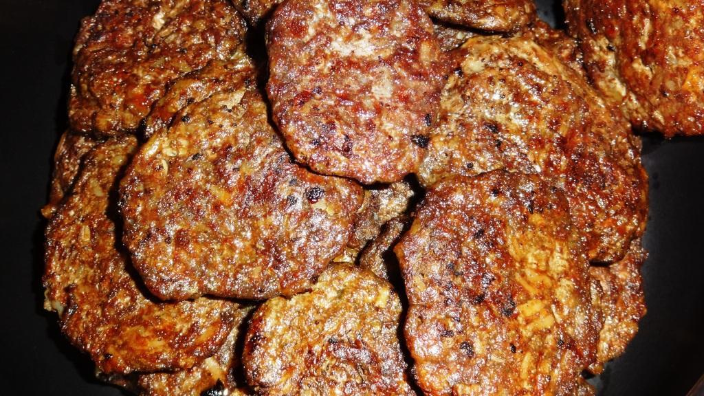 Оладьи из говяжьей печени
