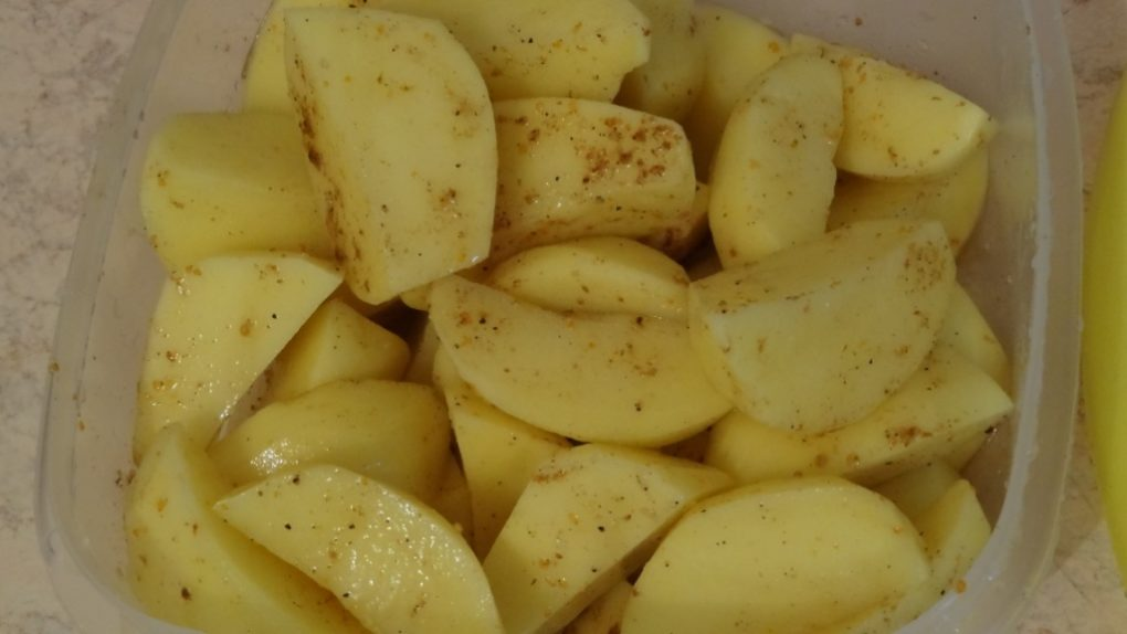 утка запеченная с яблоками